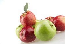 Free Group Of Different Apples Stock Photos - 20780373