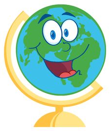 Free Happy Desk Globe Stock Images - 20780374