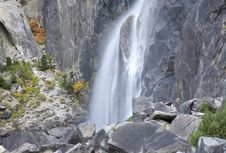 Free Yosemite Mini Waterfall Stock Photo - 20780470