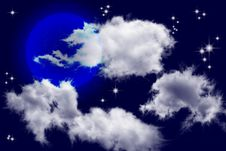 Free The Sky And Clouds Royalty Free Stock Photos - 20781208