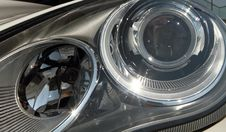 Free Modern Car Headlights Stock Image - 20781621