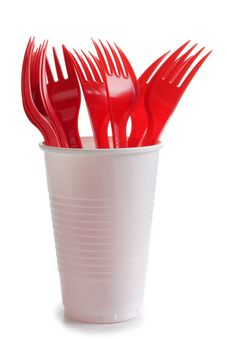 Free Forks On Cup Royalty Free Stock Photos - 20781938