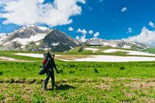 Free North Caucasus Mountains Royalty Free Stock Photo - 20782015