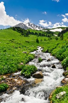 Free Mountain River Stock Photography - 20782212