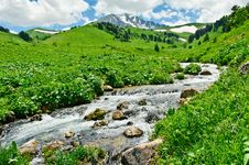 Free Mountain Landscape Royalty Free Stock Photography - 20782357