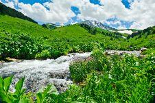 Free Mountain River Royalty Free Stock Photo - 20782385