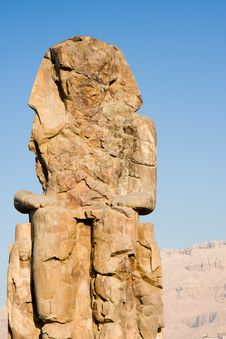 Free Colossi Of Memnon Royalty Free Stock Photo - 20783885