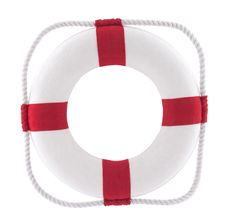 Free Lifebuoy With Clipping Path Royalty Free Stock Images - 20784229