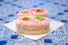 Free Tasty Beautiful Cakes In Cafe Stock Photos - 20785433