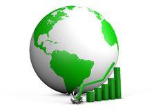 Free Global Crashing Graph Stock Image - 20785621