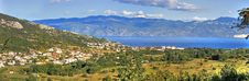 Free Panoramic View Of Baska - Croatian Town Stock Image - 20786121