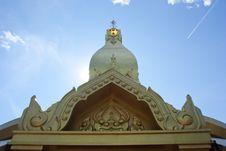 Free Thai Temple. Stock Image - 20786191