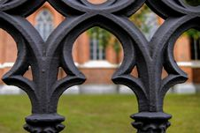 Free Fence At The Cathedral Stock Photos - 20786593