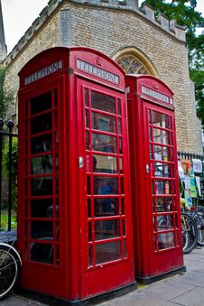 Free Red Phone Box Stock Photo - 20786740