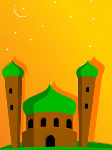 Free Illustration For Eid Mubarak Celebration Stock Photography - 20786882