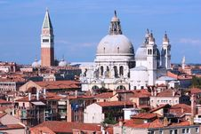 The Roofs Of Venice Royalty Free Stock Image