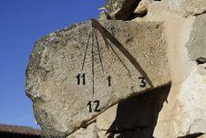 Free Sundial Stock Image - 20787141