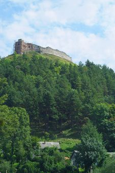 Free The Ruins Of The Castle. Mountain Bona Kremenec Stock Photography - 20787332