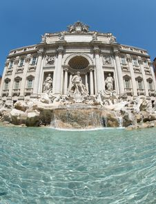 Free Fontana Di Trevi Royalty Free Stock Photos - 20787468