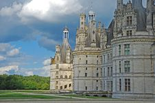Free Landscape Of The Castle Chambord Stock Photo - 20787750
