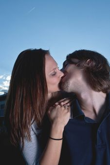 Free Young Loving Couple Stock Image - 20788001