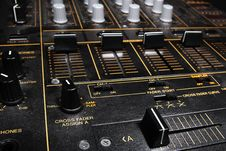 Free Professional Sound Mixing Controller Mixer Stock Images - 20788074