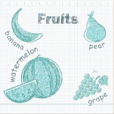 Free Fruit Set Stock Image - 20788531