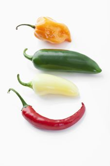 Free Chili Peppers Royalty Free Stock Photo - 20788675