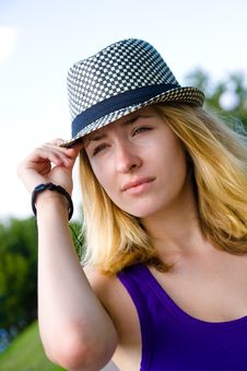 Free Girl In Hat Stock Images - 20789154