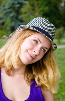 Free Girl In Hat Stock Photos - 20789173