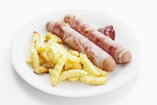 Bernese Sausages Royalty Free Stock Image