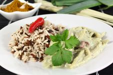 Free Green Curry Royalty Free Stock Photography - 20789617
