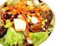 Free Mixed Salad Royalty Free Stock Photos - 20789988