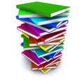 Free A Stack Of Colorful Books Royalty Free Stock Photography - 20794067
