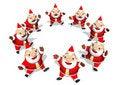 Free Dancing Santa Royalty Free Stock Photo - 20796975