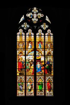 Free Stained Glass Window Royalty Free Stock Photos - 20791728