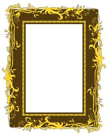 Free Golden Frame Stock Images - 20791754