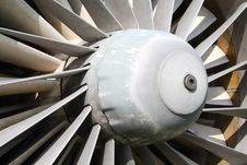 Free Jet Engine Close Up Stock Photo - 20791790