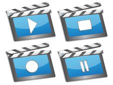 Free Film Slate Royalty Free Stock Images - 20791859