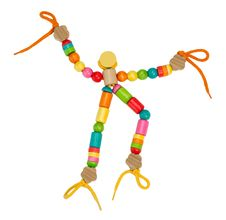 Free Colorful Wooden Puppet Toy Stock Images - 20792294