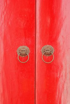 Free Red Door Stock Images - 20792374