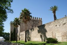 The Alcazar Of Jerez Details Royalty Free Stock Photos