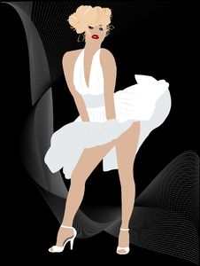 Free Sexy Blond Royalty Free Stock Photo - 20794085