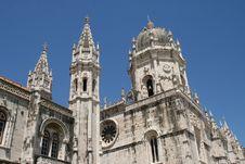 Hieronymites Monastery, Belém, Lisbon Royalty Free Stock Photos