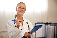 Free Female Medical Professional Stock Image - 20795091