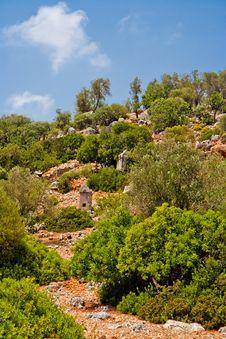 Free Lycian Tomb Stock Image - 20795361