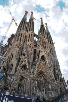 Free Sagrada Familia Stock Photography - 20795362