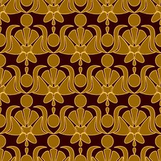 Free Seamless Patterned Wallpaper Royalty Free Stock Image - 20795746