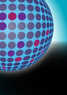 Free Dotted Ball Background Stock Photo - 20795790