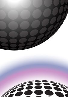 Free Dotted Ball Background Stock Images - 20795804